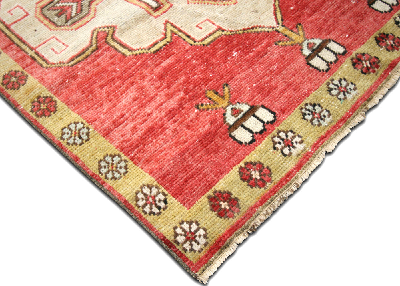 "Vintage Turkish Oushak Runner - 3'2"" x 10'1"""