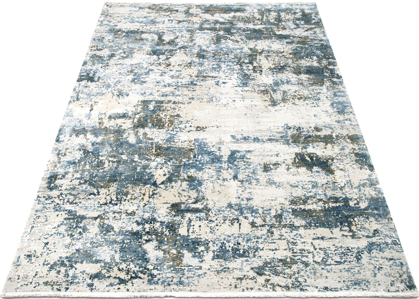 "Contemporary Turkish Loomed Rug - 5'3"" x 7'7"""