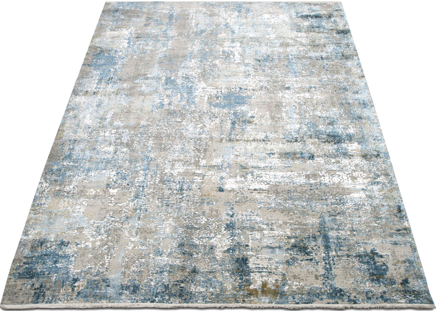 "Contemporary Turkish Loomed Rug - 3'3"" x 4'11"""