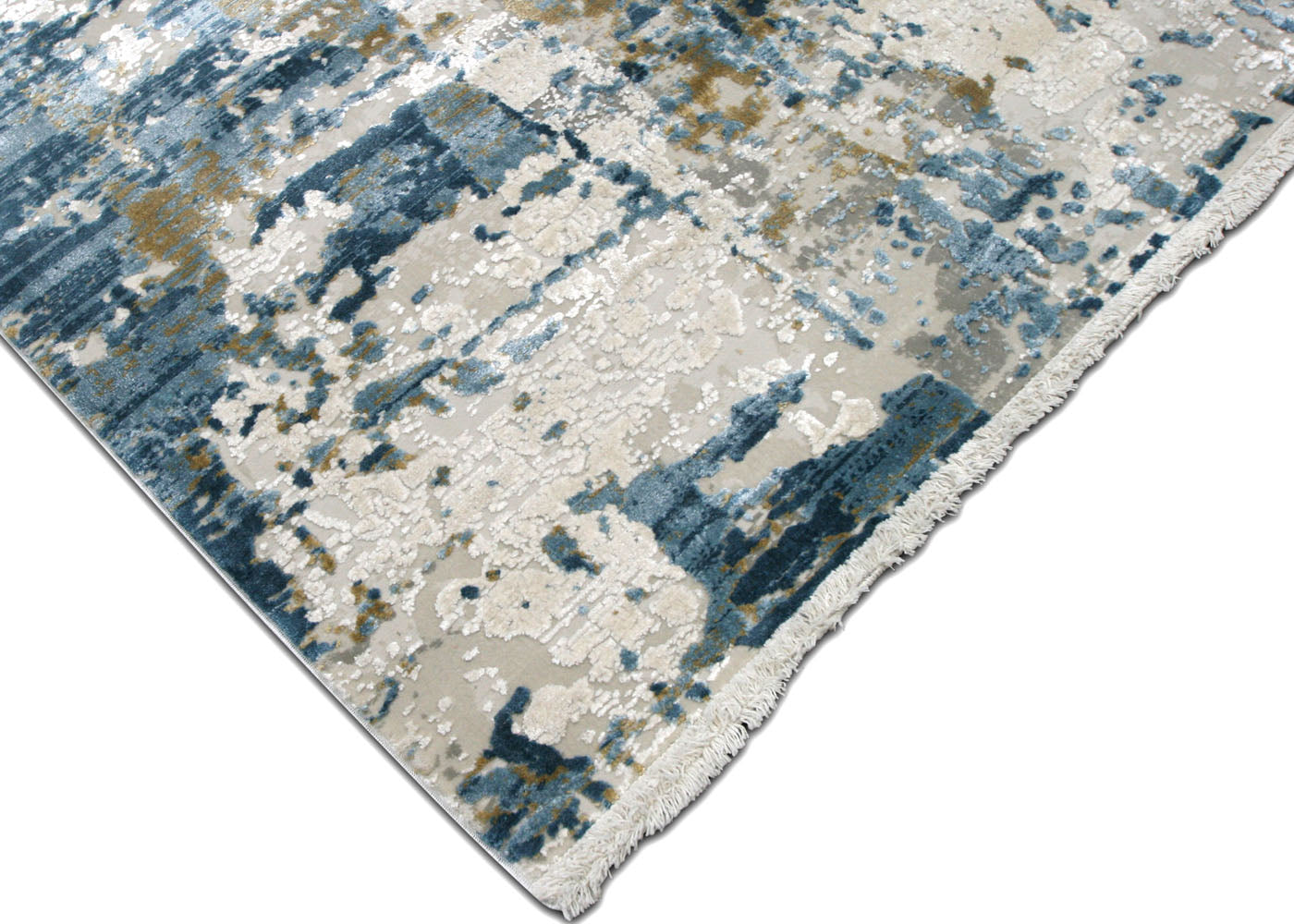 "Contemporary Turkish Loomed Carpet - 7'10"" x 11'2"""
