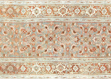 "Semi Antique Persian Melayer Runner - 3'3"" x 16'"