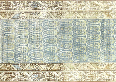 "Semi Antique Persian Melayer Runner - 2'7"" x 15'1"""