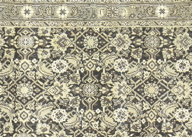 "Semi Antique Persian Melayer Runner - 2'11"" x 10'1"""