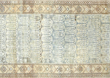 "Antique Persian Melayer Runner - 3'4"" x 14'10"""