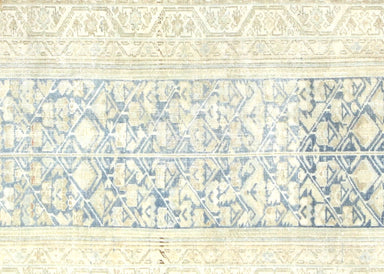 Semi Antique Persian Melayer Runner - 3' x 14'9""
