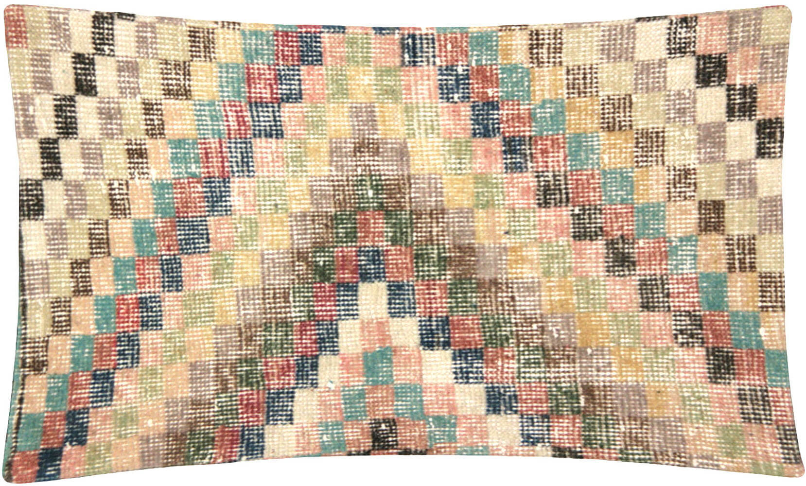 "Vintage Turkish Mid-Century Modern Pillow - 17"" x 23"""