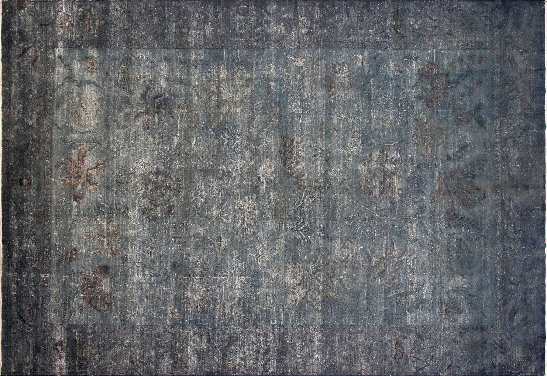 "Vintage Egyptian OverDyed Carpet - 11'11"" x 17'5"""