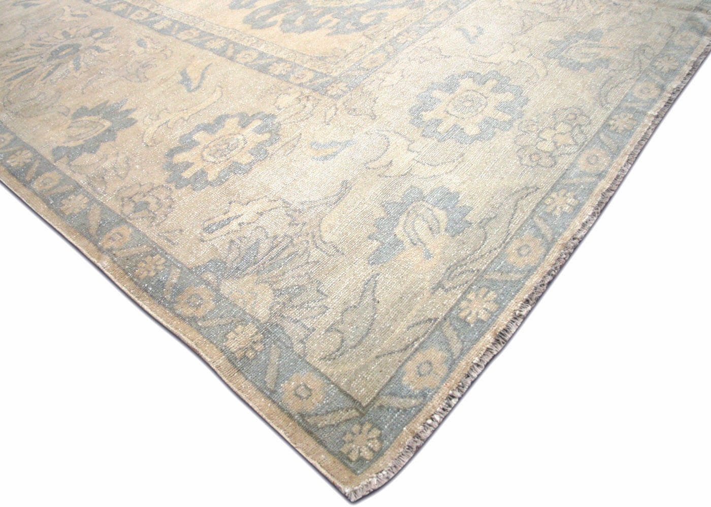 "Vintage Egyptian Sultanabad Carpet - 11'2"" x 13'5"""