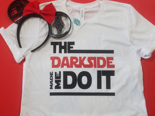The Dark side made me do it - Star wars