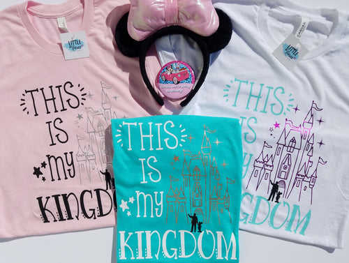 This is my Kingdom | Crew Neck Disney Shirt