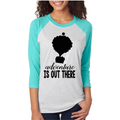 "Disney's ""Up"" Adventure is out there shirt - Unisex Raglan - Disney shirts for women - Disney World"