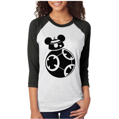 BB8 shirt LittleButFierceCo
