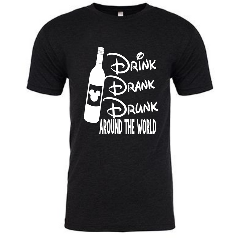 Drinking around the world - Epcot shirt - Disney Adult shirts - Disney Family shirts
