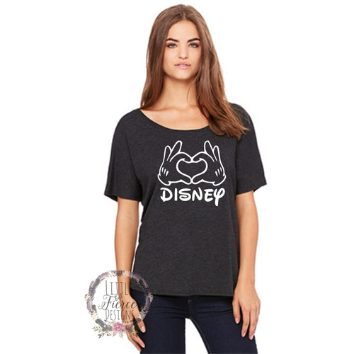 Disney Shirt - Love - Disney family shirts