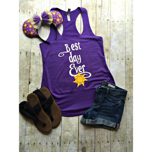 Best Day Ever Shirt - Rapunzel Shirt - Disney Shirts for women - Best day ever Disney Shirt