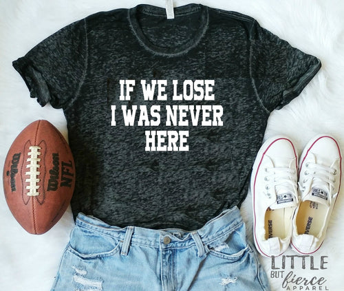 If We Lose I was Never Here Vintage Acid Wash Crew Neck Shirt