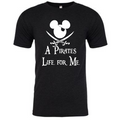[Pirates of the Caribbean Shirts] - A pirate's life for me - Disney shirts - Crew neck tee
