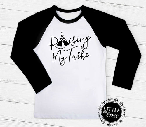 Raising My Tribe Shirt | Mom Shirts | Funny Mom Shirt | Mom Shirt