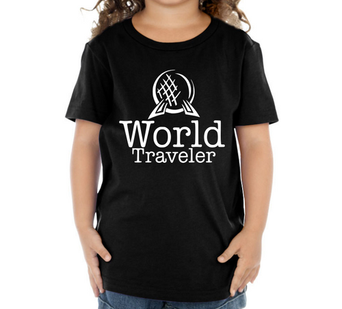 World Traveler Kids Crew Neck TShirt