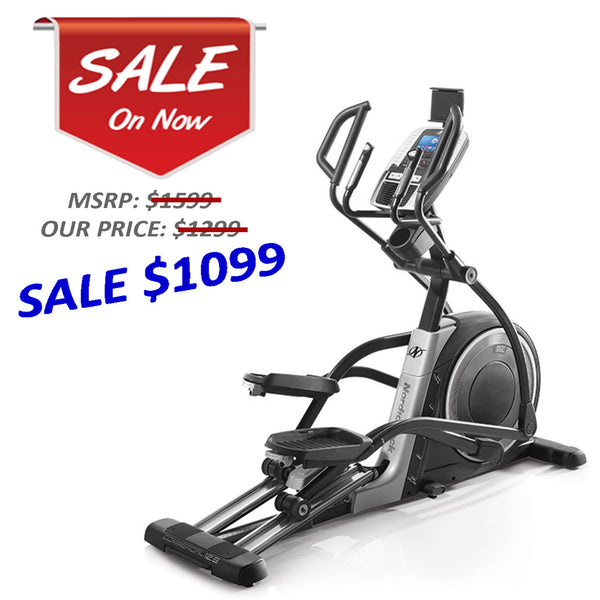 Certified NordicTrack C12.9 Elliptical w/ 90 day warranty