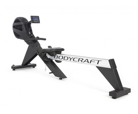 BodyCraft VR500 Folding Rower w/Auto 32 Level Air/Mag., HB Remote/Programs/HRC