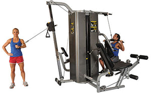 "Inflight Fitness Vanguard 4 Stack w/Cable Crossover with 84"" Crossbeam With/Without Shrouds"