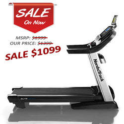 Nordic Track Elite 3750 Treadmill Certified Refurbished with 90 Day Warranty