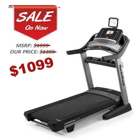 NordicTrack Commercial C1750 Treadmill Certified w/ 90 Day Warranty