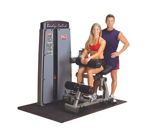 Body-Solid Dual Ab/Back, Freestanding with Stack