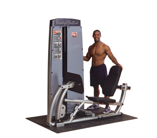 Body-Solid Dual Leg/Calf Machine FREESTANDING, W STACK