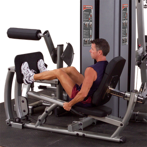 Body-Solid Dual Leg/Calf Station, DGYM W STACK