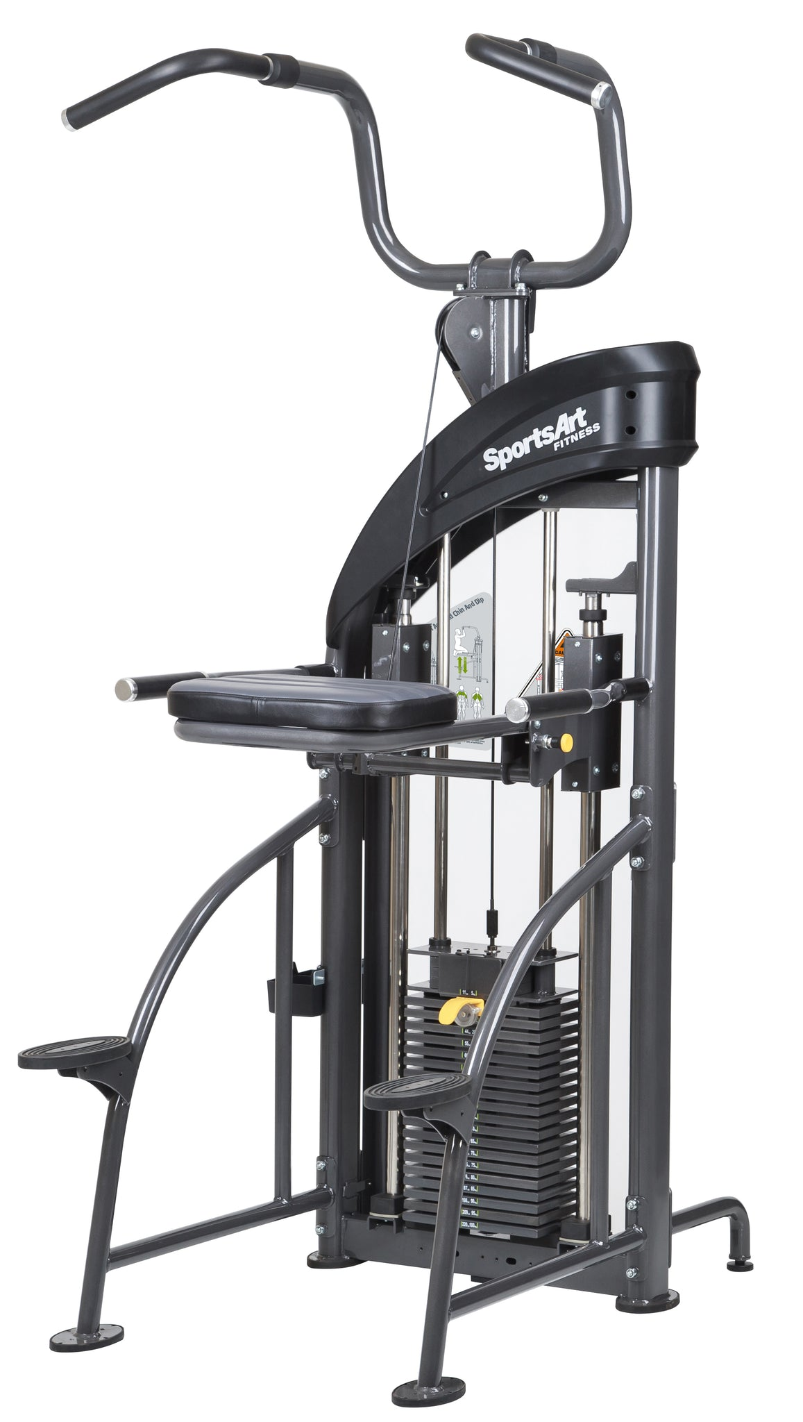 DF-207/P711 PERFORMANCE DUAL FUNCTION CHIN-UP/TRICEP DIP
