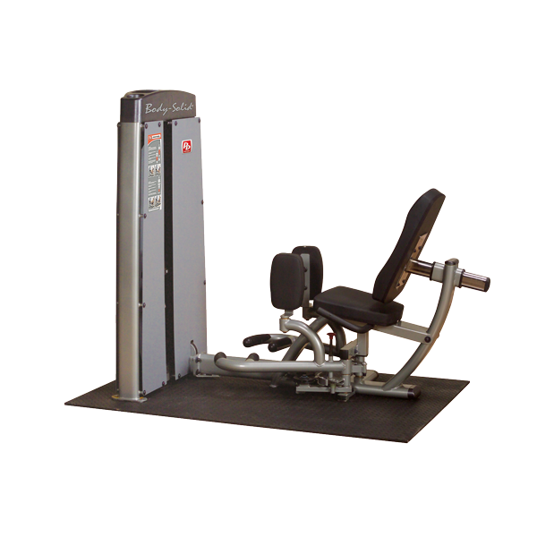 Body-Solid Dual Inner Outer Thigh Machine, Freestanding, 210lb Stack