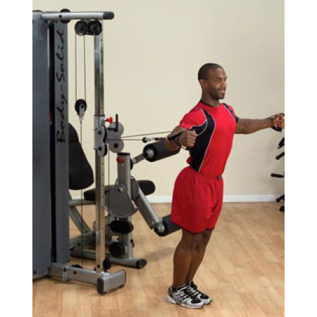 Body-Solid Dual Cable Column-Station DGYM w STACK