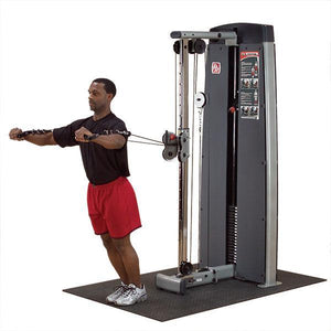 Body-Solid Dual Cable Column-Station, DGYM No Stack