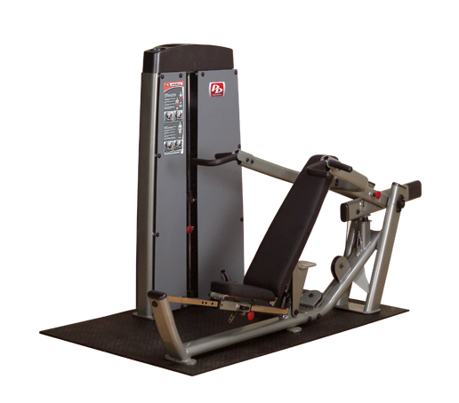 Body-Solid Dual FID Press-Machine, Freestanding w Stack