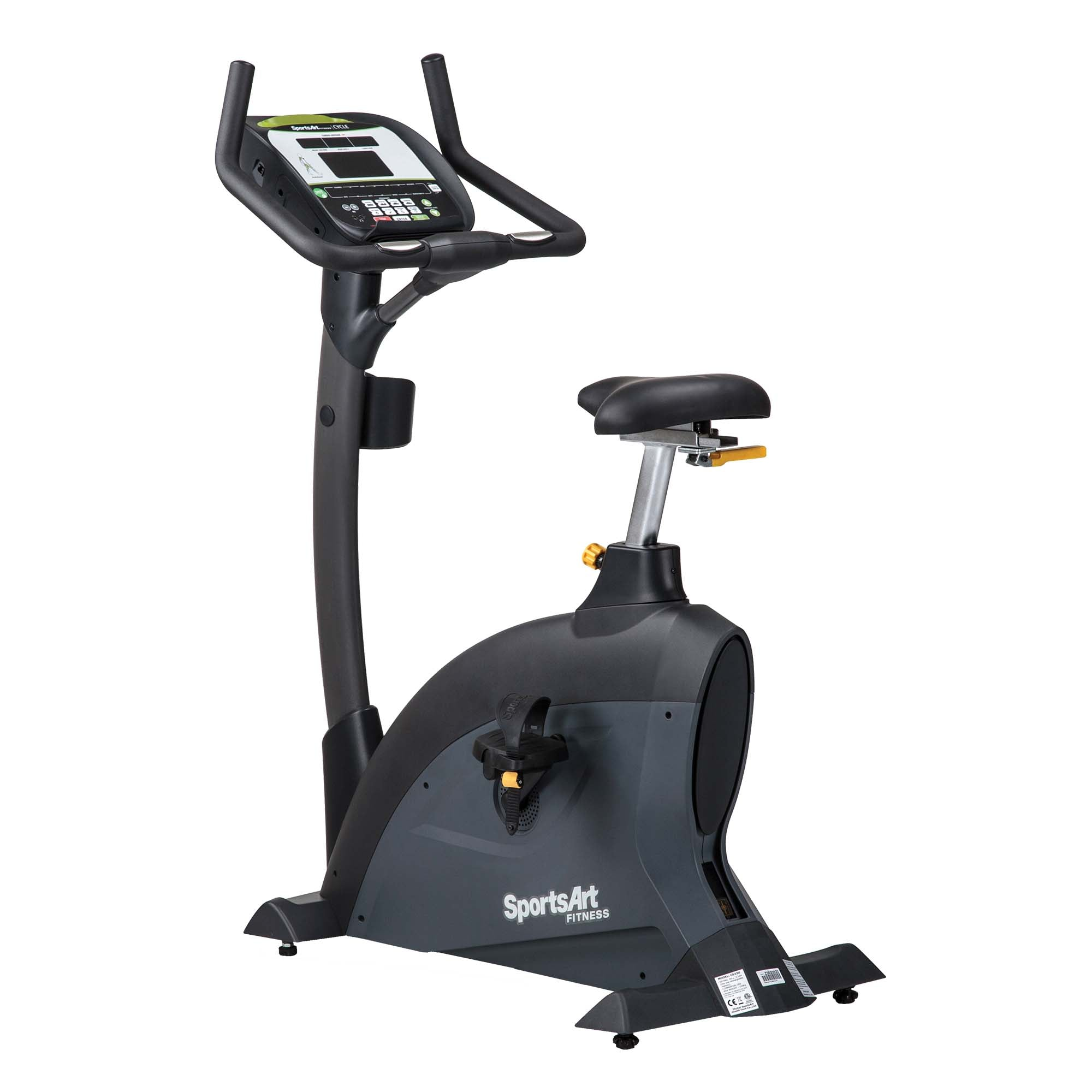SportsArt G545U-900MHZ Performance Series ECO-POWR Upright Cycle