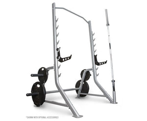 F460 Squat Rack with Plate and Oly Bar Storage