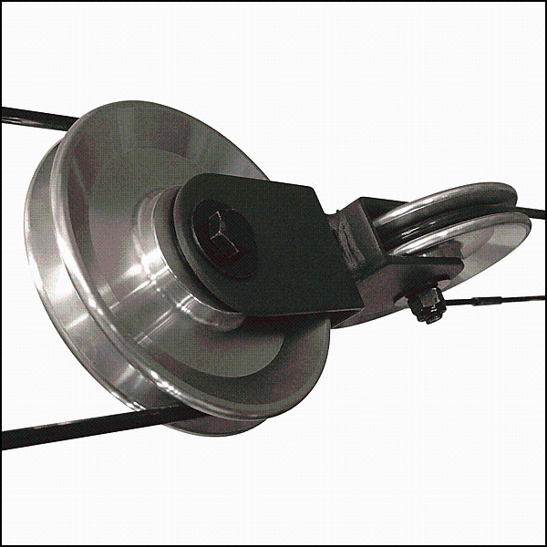 Body-Solid Aluminum Pulley Upgrade - G3S Gym