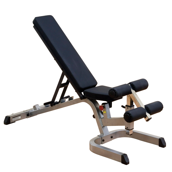 "Body-Solid Flat/Incline/Decline Bench, 2""x3"", GFID71"