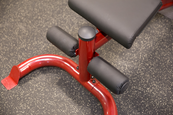 Body-Solid Flat/Incline/Decline Bench, Red Frame