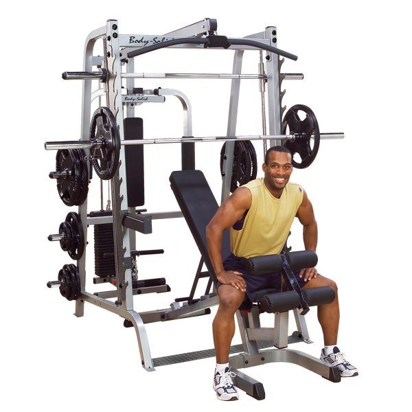 Body-Solid Series 7 Smith Gym GS348QP4