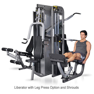 Inflight Fitness Multi-Gym Liberator 4th Stack Leg Press Option (No Shrouds Available)