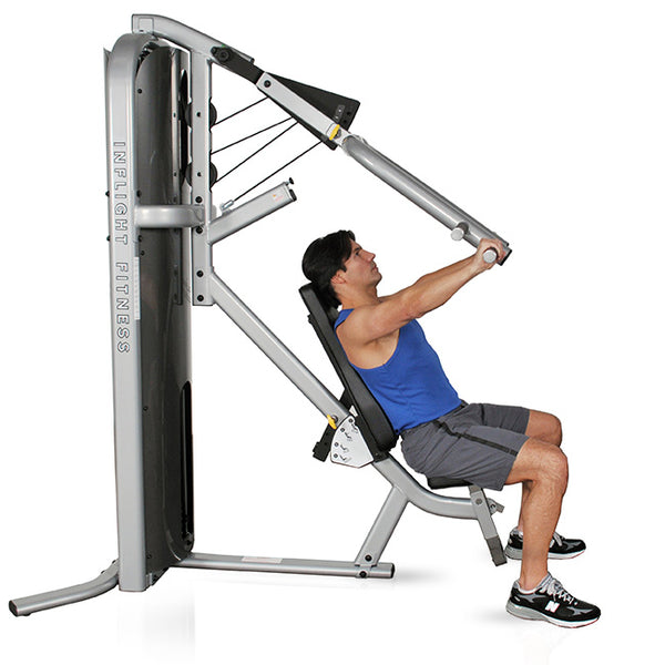 Inflight Fitness CT Line Machine MPSS Multi-Press with/without Full Shrouds