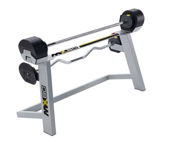 MX80 Adjustable Barbell & EZ Curl Bar