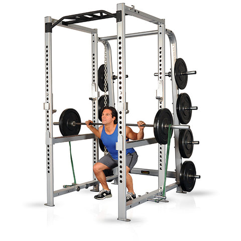 Inflight Fitness Intimidator 8 Foot Power Rack FULLY LOADED
