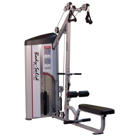 Body-Solid Series II Lat Pulldown & Seated Row | 160 lb. and 235 lb.  Stacks