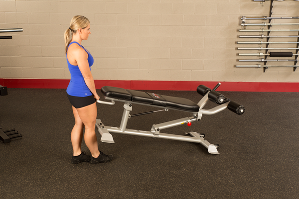 Body-Solid Pro ClubLine Ab Bench