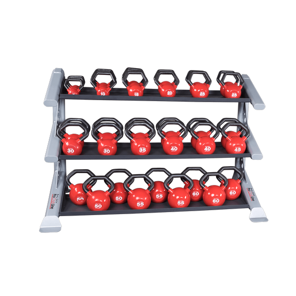 Body-Solid 3 Tier PCL Kettlebell Rack