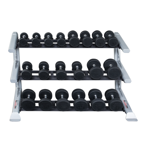 Body-Solid 3 Tier Saddle Dumbbell Rack